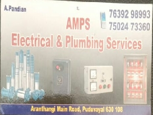 AMPS Electrical and Plumbing Services
