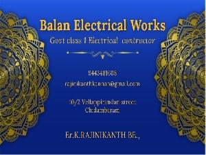 Balan Electrical Works