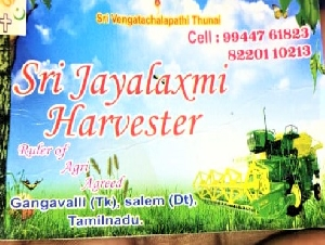 Jayalakshmi Harveater and Baler