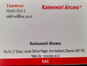 Kaleeswari Aircons