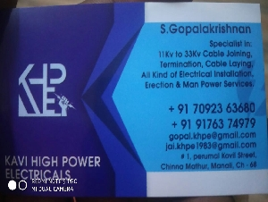Kavi High Power Electricals