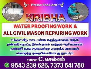 Kribha Water Proofing Work