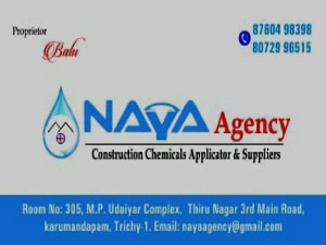 NAYA Agency Construction chemicals Applicator & Suppliers