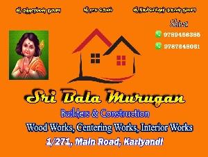 Sri Bala Murugan Builders and Constructions
