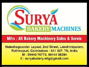 Surya Bakery Machines