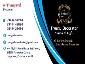 Thangu Decorator
