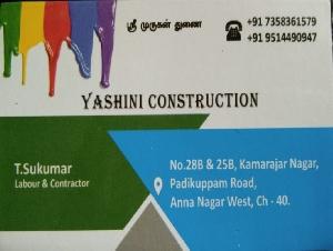Yashini Constructions