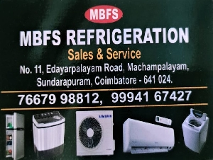 MBFS Refrigeration Sales and Services